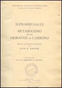 Suprarrenales y metabolismo de los hidratos de carbono.
